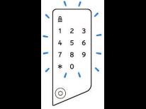 集荷依頼方法 ⑩ 登録したい 一回限定暗証番号を 入力