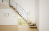 階段・手すり(アルミインテリア建材 スクリーンパーティション)