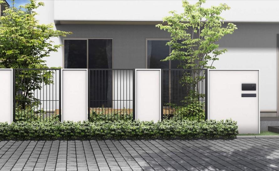 フェンス - シンプルデザイン(シャローネ)