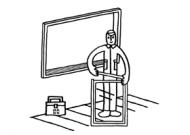 アタッチメント付き複層ガラス