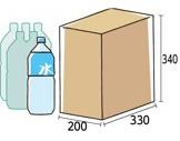 ペットボトル2ℓ×6本入り箱