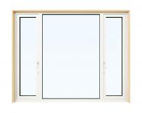 テラスドア 3連窓