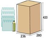 ペットボトル500mℓ×24本入り箱
