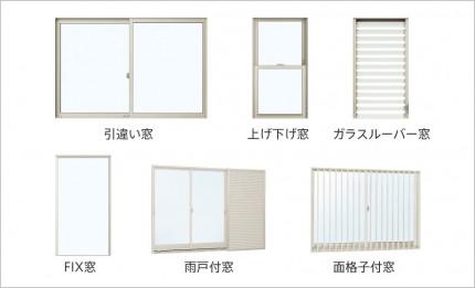 多くの窓に対応
